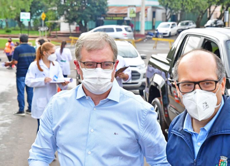 Santo Ângelo vacina mais 668 idosos contra a COVID-19