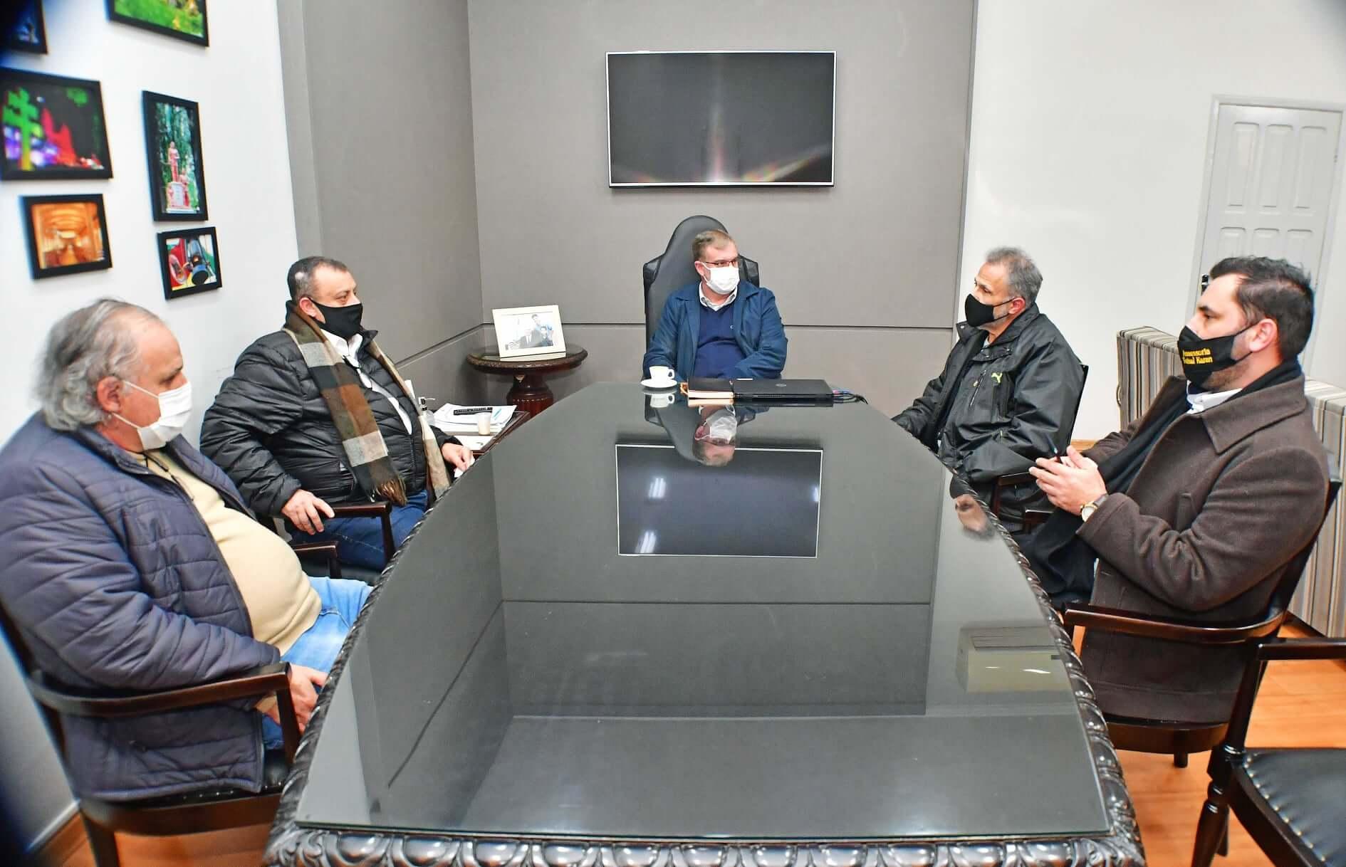 Deputado Faisal Karam visita Santo Ângelo
