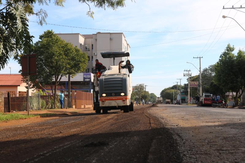 Rua Horizontina receberá novo recapeamento asfáltico
