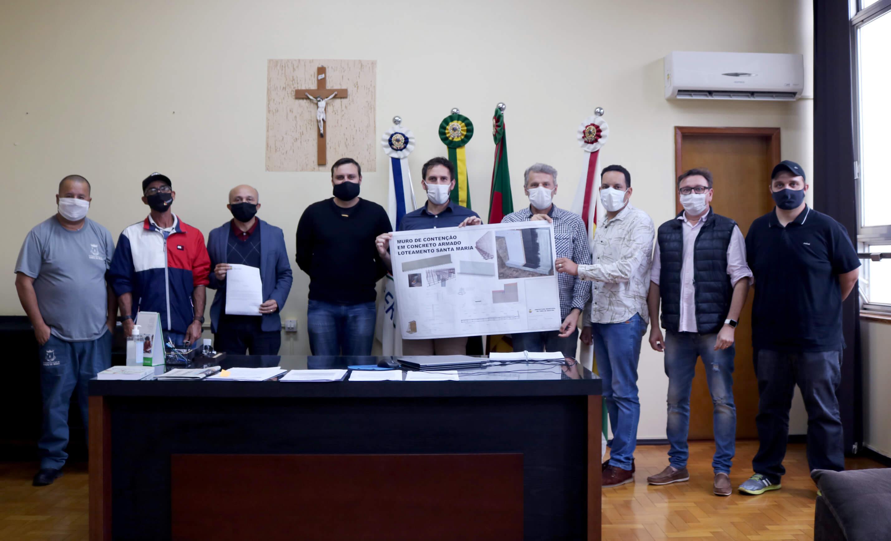SECRETARIA DE HABITAÇÃO DEBATE MELHORIAS EM TRÊS DE MAIO