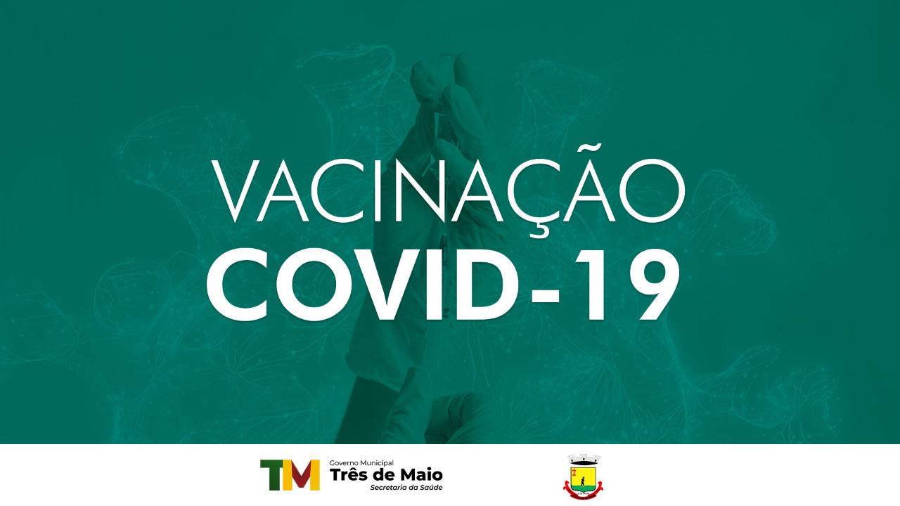 VACINAÇÃO CONTRA A COVID-19 EM PESSOAS ACIMA DE 25 ANOS OCORRE NA SEGUNDA-FEIRA