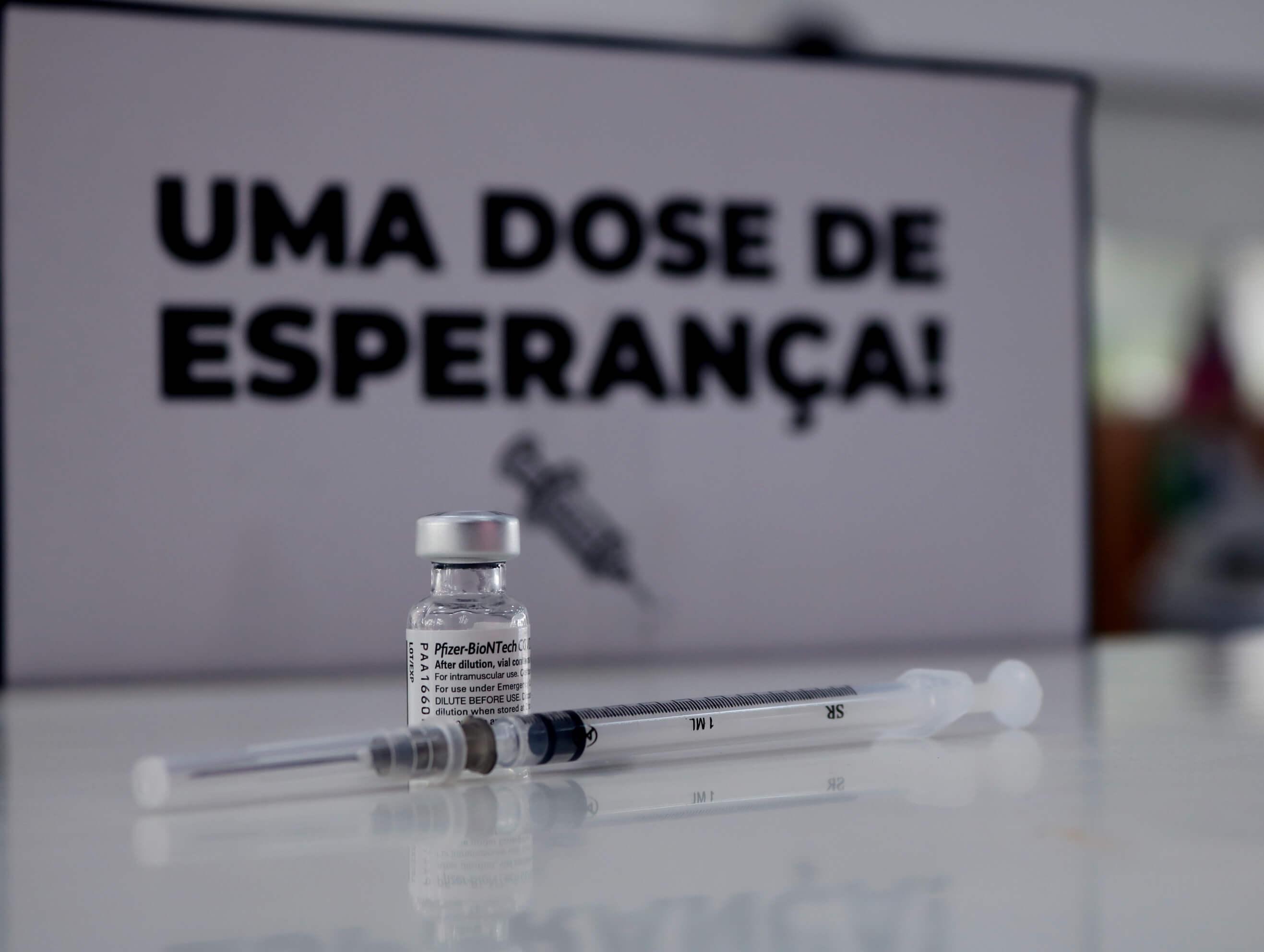 VACINAÇÃO CONTRA A COVID-19 EM PESSOAS ACIMA DE 23 ANOS OCORREU HOJE