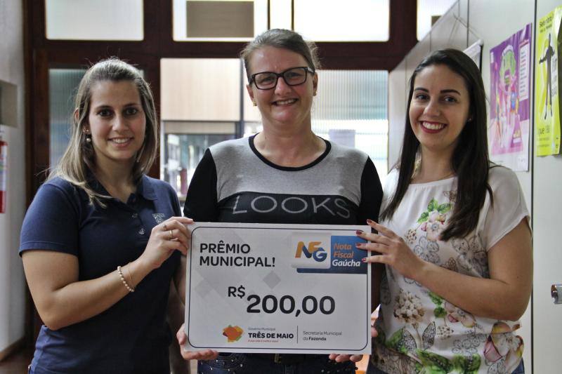 Ganhadoras de setembro da NFG receberam R$ 200,00 cada