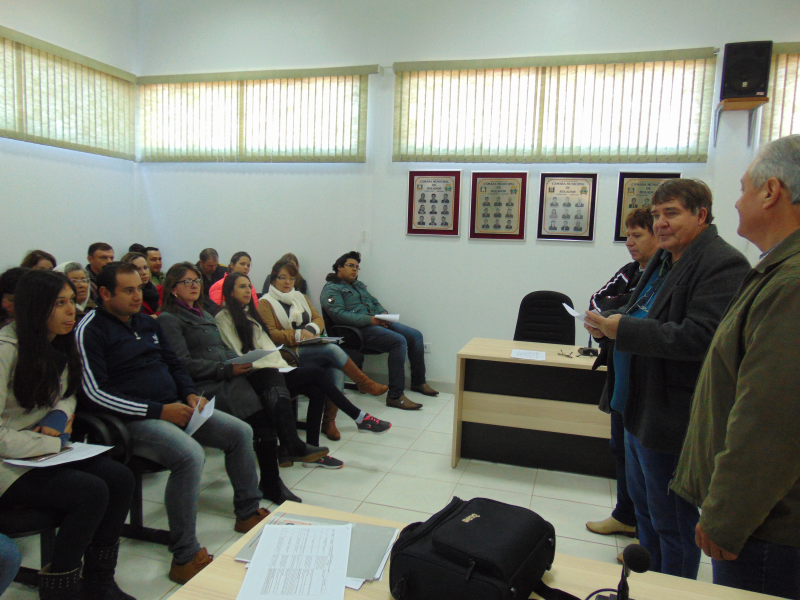 Reunião de consulta popular(COMUDE)