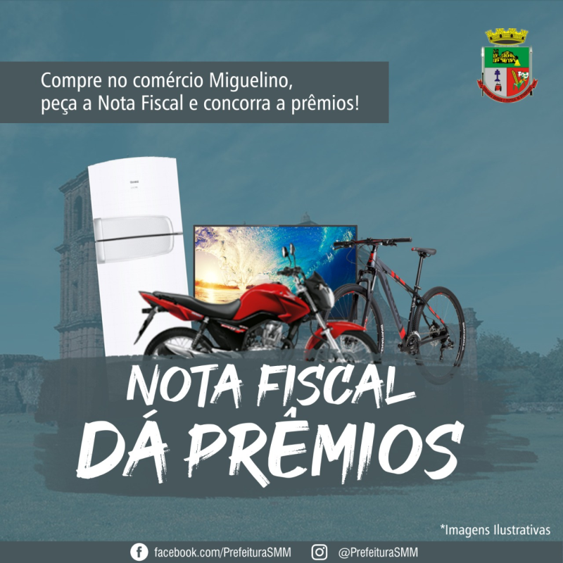 NOTA FISCAL DÁ PRÊMIOS 2020