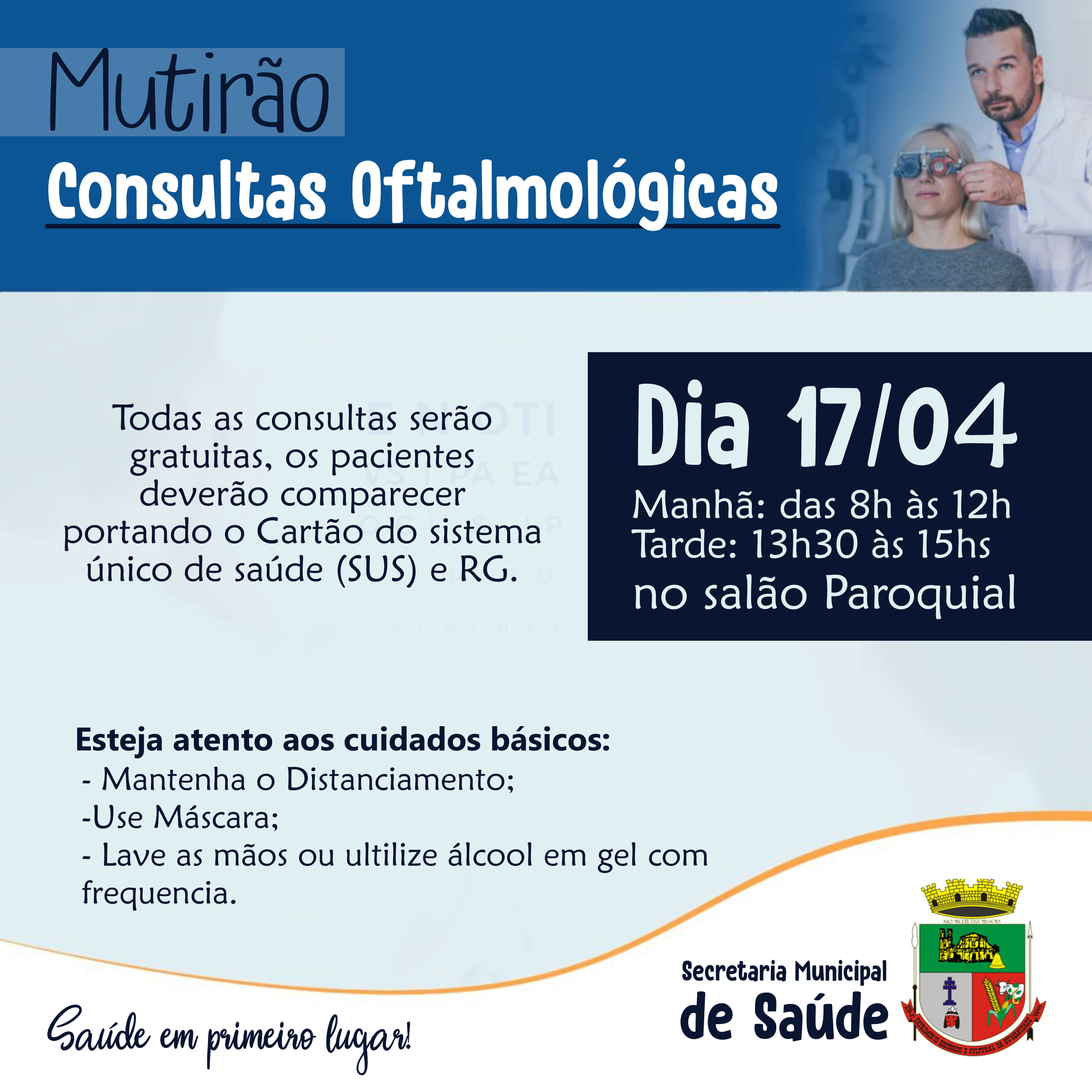 Consultas oftalmológicas