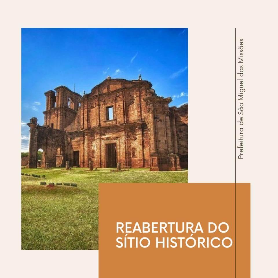 Sítio Histórico reabre para visitações