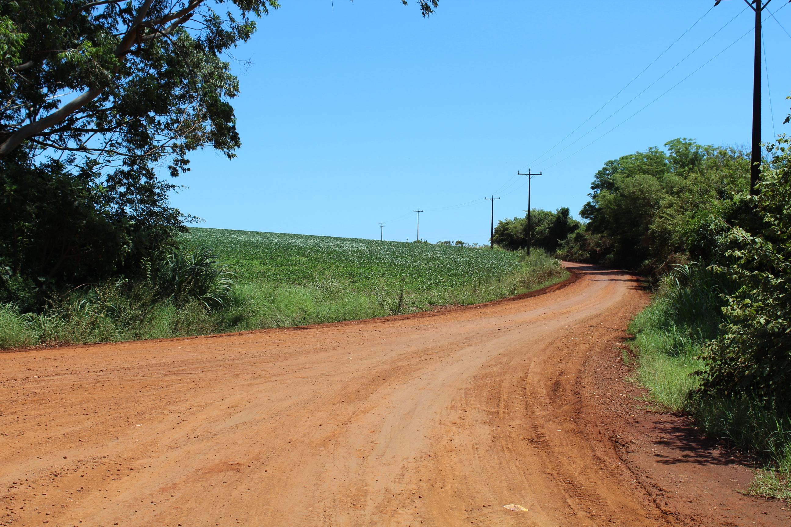 Estrada de acesso ao Rincão de São Pedro pautou reunião entre o Executivo Municipal e empresa que executou obra de recuperação