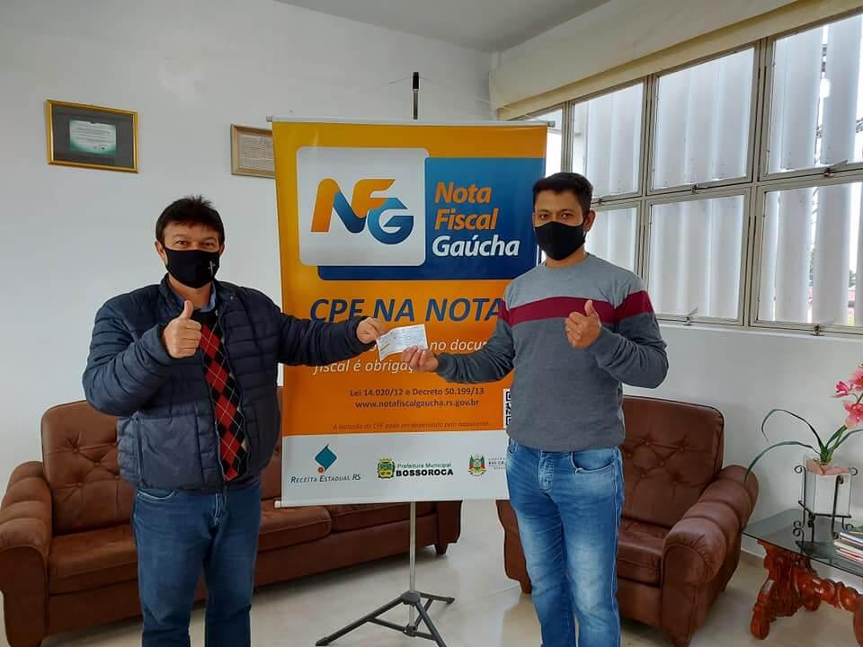 ENTREGUE O PRÊMIO DO PROGRAMA NOTA FISCAL GAÚCHA