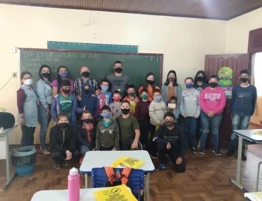 Programa Saúde na Escola promove conscientização as crianças em Bossoroca