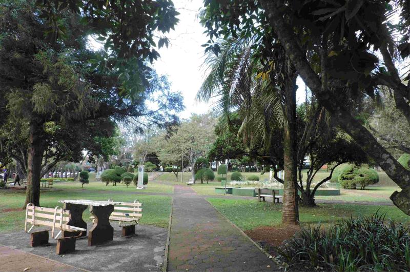 Praça da Matriz . Uma das mais belas do Interior do Estado