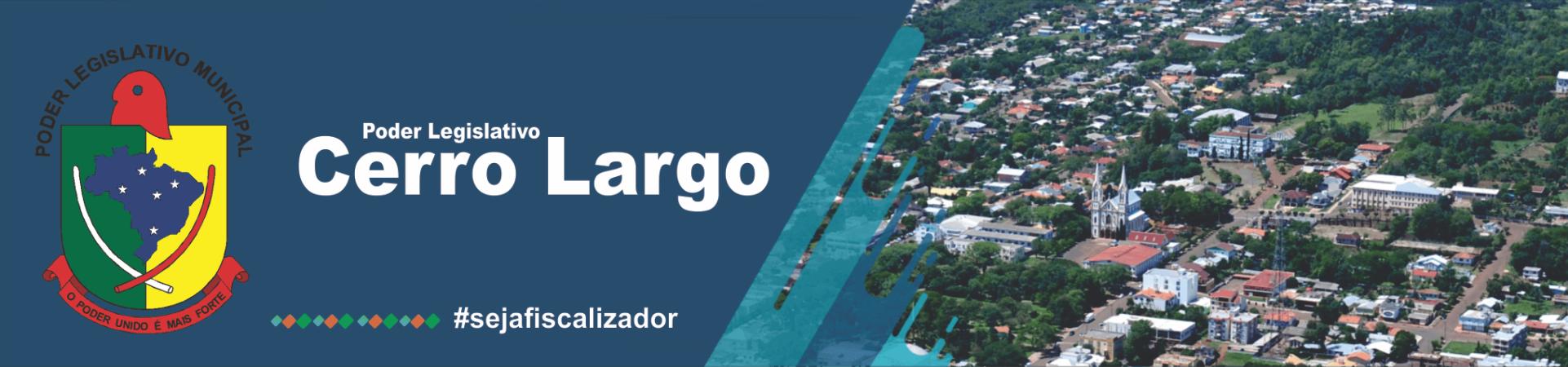Poder Legislativo Cerro Largo - RS