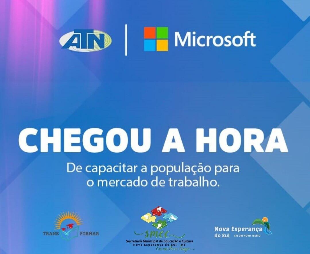 Cursos Gratuitos com certificação Microsoft